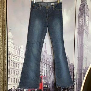 MUDD Mid rise bell bottom 5 pocket zip jean